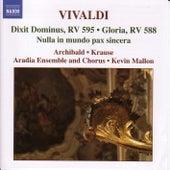 Dixit Dominus, RV 595/Gloria RV 588 by Antonio Vivaldi