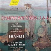 Symphonies 3 and 4 by Johannes Brahms