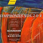 Symphonies 2 and 4 by Robert Schumann