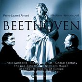 Beethoven : Triple Concerto, Rondo in B flat, Choral Fantasy by Nikolaus Harnoncourt