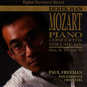 The Complete Mozart Piano Concertos, Vol. Six by Derek Han