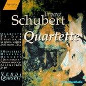 Quartett D 87, Menuett D 86, Menuette and Deutsche D 89 by Franz Schubert