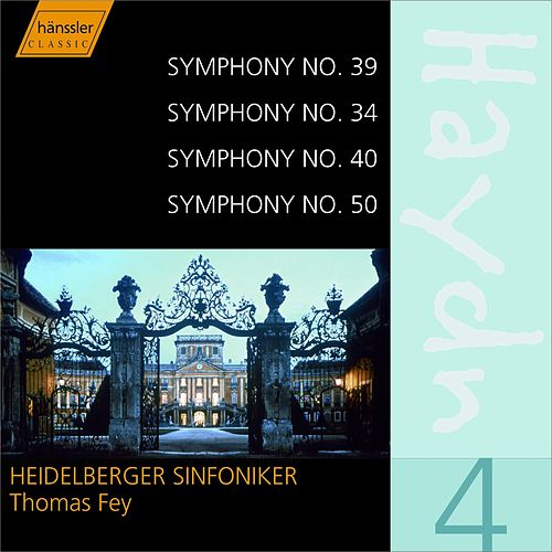 Haydn Symphonies 39, 34, 40, 50 by Franz Joseph Haydn