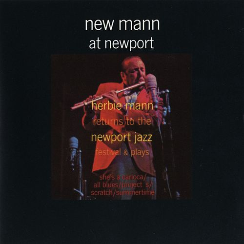 New Mann At Newport by Herbie Mann
