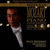 The Complete Mozart Piano Concertos, Vol. Eight by Derek Han