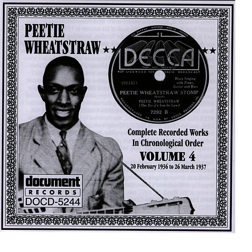 Peetie Wheatstraw Vol. 4 1936-1937 by Peetie Wheatstraw