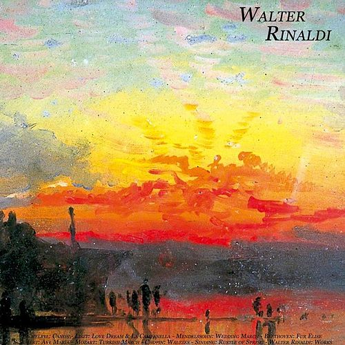Pachelbel: Canon - Liszt: Love Dream & La Campanella - Mendelssohn: Wedding March - Beethoven: Fur Elise - Schubert: Ave Maria - Mozart: Turkish March - Chopin: Waltzes - Sinding: Rustle of Spring - Walter Rinaldi: Works by Walter Rinaldi