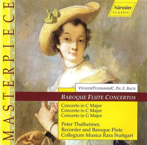 Baroque Flute Concertos by Carl Philipp Emanuel Bach