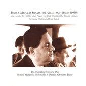 Hindemith: Cello Sonata / Armer: Recollections and Revel / Shifrin: Cello Sonata / Turok: Cello Sonata / Milhaud: Cello Sonata by Hampton-Schwartz Duo