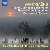 Saint-Saens: Piano Quartet - Barcarolle - Piano Quintet by Fine Arts Quartet