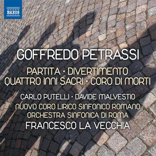 Petrassi: Partita - Divertimento - 4 inni sacri - Coro di morti by Various Artists