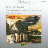 Paul Hindemith: Streichquartette Nr.2 & Nr.6 by Juilliard String Quartet