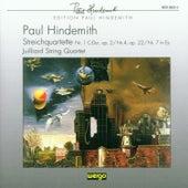 Paul Hindemith: Streichquartette Nr.1, 4 & 7 by Juilliard String Quartet