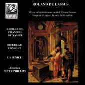 Lassus: Missa ad imitationem moduli Vinum bonum & Magnificat super Aurora lucis rutilat by Various Artists
