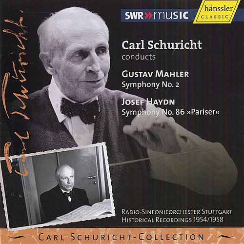 Mahler, G.: Symphony No. 2 / Haydn, J.: Symphony No. 86 (Carl Schuricht Collection, Vol. 17) (1954, 1958) by Various Artists