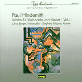 Paul Hindemith: Werke für Violoncello & Klavier - Vol.I by Julius Berger