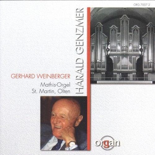 Harald Genzmer: Fantasie / Weihnachtskonzert / Sonaten by Gerhard Weinberger