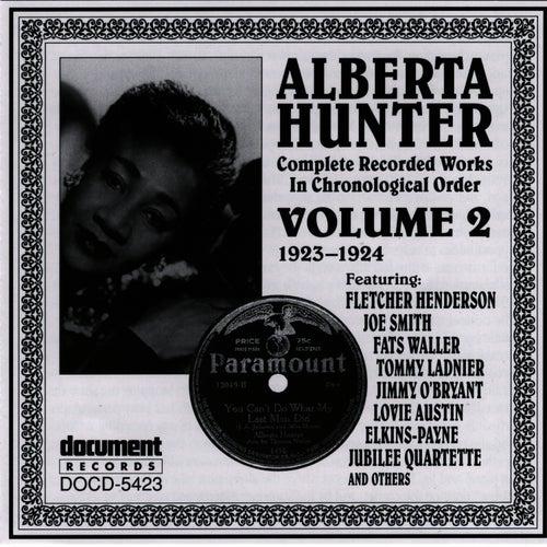 Alberta Hunter Vol. 2 (1923-1924) by Alberta Hunter