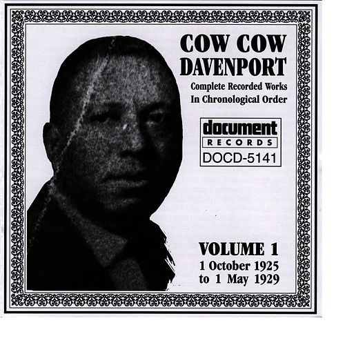 Cow Cow Davenport Vol. 1 (1925-1929) by Cow Cow Davenport