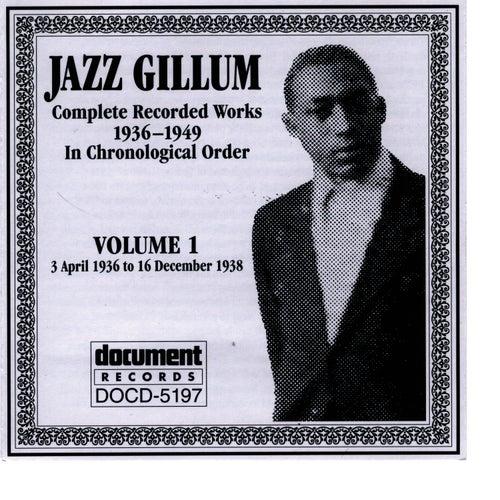 Jazz Gillum Vol. 1 1936-1938 by Jazz Gillum