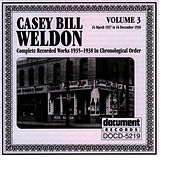 Casey Bill Weldon Vol. 3 1937-1938 by Casey Bill Weldon