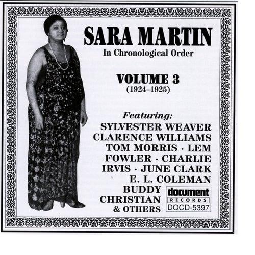 Sara Martin Vol. 3 (1924-1925) by Sara Martin