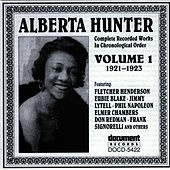 Alberta Hunter Vol. 1 (1921-1923) by Alberta Hunter
