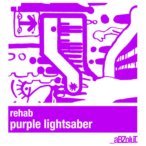 Purple Light Saber by Rehab