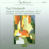 Paul Hindemith: Werke für Violoncello & Klavier - Vol.II by Julius Berger