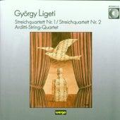 György Ligeti: Streichquartette 1 + 2 by Arditti String Quartet