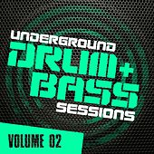 Underground Drum & Bass Sessions Vol. 2 - EP by Various Artists
