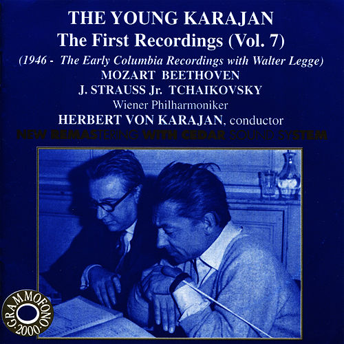 The Young Karajan - The First Recordings, Vol. 7 by Wiener Philharmoniker