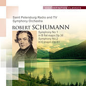 Symphony No.1 in B flat major, Op.38 Symphony No.2 in C major, Op.61 by The Saint Petersburg Radio & TV Symphony Orchestra