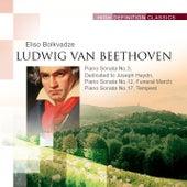 Piano Sonata No.3, Dedicated to Joseph Haydn; Piano Sonata No.12, Funeral March; Piano Sonata No.17, Tempest by Eliso Bolkvadze