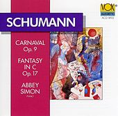 Schumann: Carnival / Fantasy In C Major by Abbey Simon