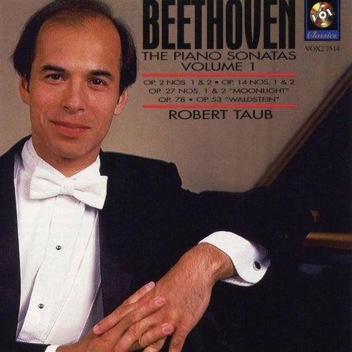 Beethoven: The Piano Sonatas Volume I by Robert Taub