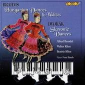 Brahms Hungarian Dances - Dvorak Slavonic Dances by Various Artists