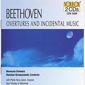 Beethoven Overtures And Incidental Music by Minnesota Orchestra