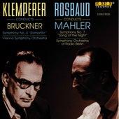 Rosbaud/mahler: Klemperer/bruckner by Various Artists