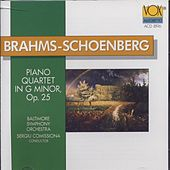 Brahms-schoenberg: Piano Quartet (arranged For Orchestra) by Baltimore Symphony Orchestra