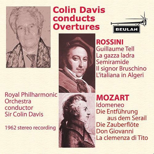Colin Davis Conducts Overtures by Royal Philharmonic Orchestra