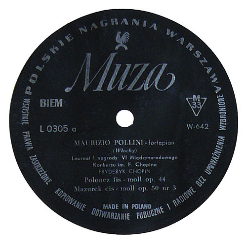 Chopin : Polonaise, Mazurka, Nocturne, Impromptu by Maurizio Pollini
