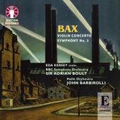 Bax: Violin Concerto - Symphony No. 3 by Various Artists