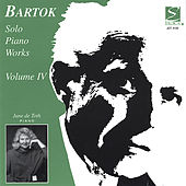 Bartok Solo Piano Works, Volume 4 by June De Toth