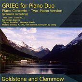 Grieg, E.: Piano Duos by Anthony Goldstone
