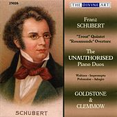 Schubert, F.: The Unauthorised Piano Duos by Anthony Goldstone