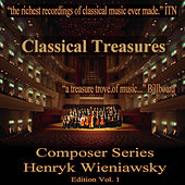 Classical Treasures Composer Series: Henryk Wieniawski, Vol. 1 by Various Artists