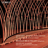 Mozart: Piano Concertos Nos. 19 and 23 by Ronald Brautigam
