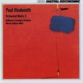 Hindemith: Orchestral Works, Vol. 3 by Melbourne Symphony Orchestra