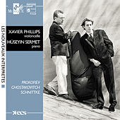 Schnittke, Shostakovitch & Prokofiev:  Cello Sonatas by Huseyin Sermet and Xavier Phillips
